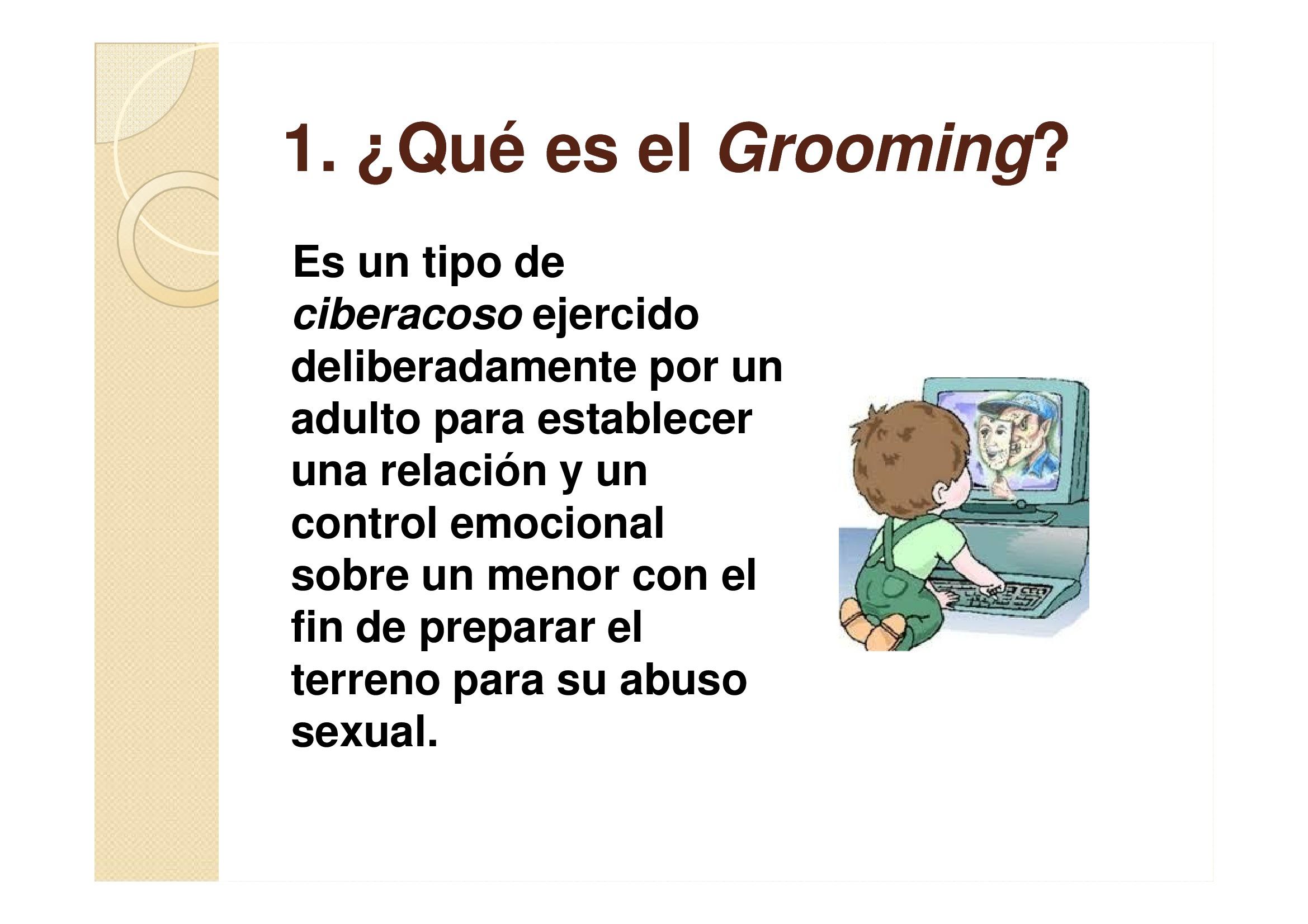 El Grooming Pablo